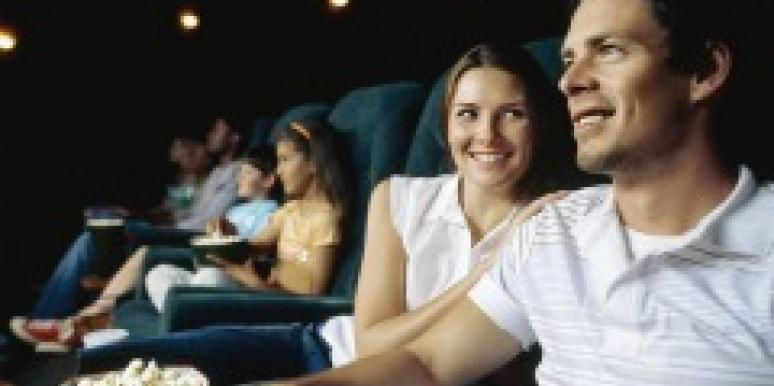 Couple at the movies