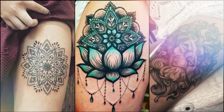 17 Sexy Thigh Tattoos For Women That Will Make You Proud Of