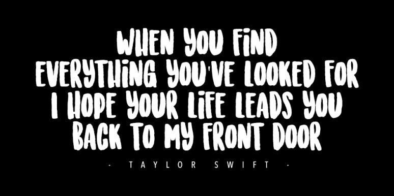 best taylor swift quotes about friendship from song lyrics your
