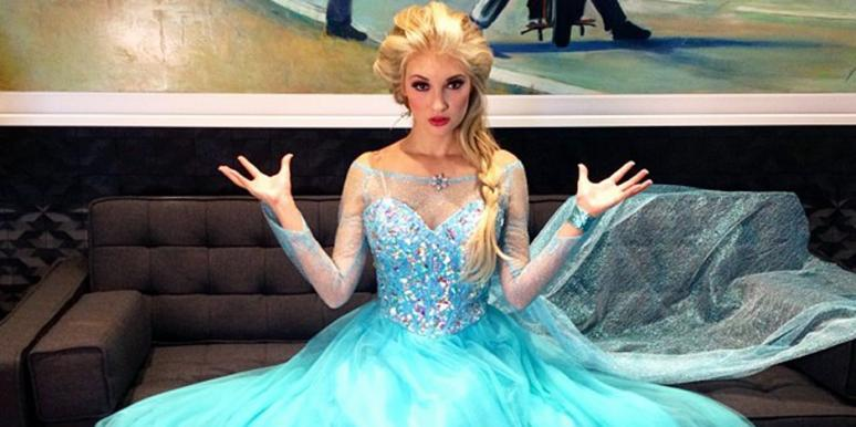 "Anna Faith as Elsa from ""Frozen"""