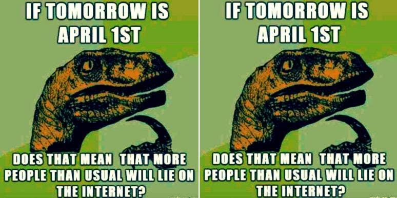April Fools' Day memes