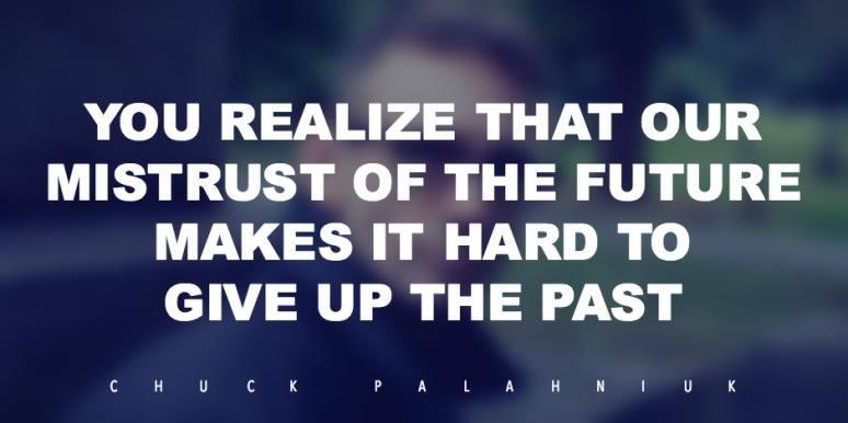 Chuck Palahniuk QUOTES ON FEAR LIFE