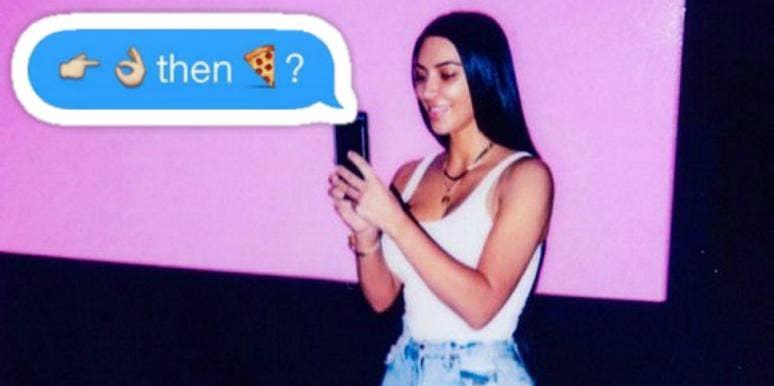 Flirting emoticon meaning