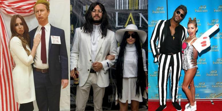 zodiac signs famous couple halloween costumes