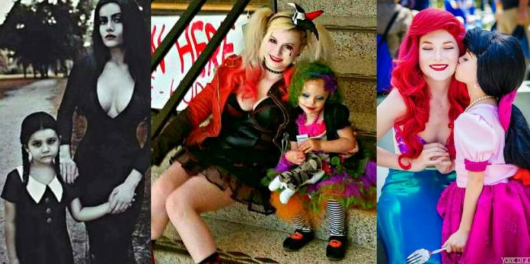 Mother Daughter Halloween Costume Ideas  sc 1 st  YourTango & 15 Adorable Matching Mother-Daughter Halloween Costume Ideas | YourTango