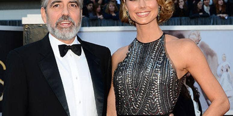 Stacy Keibler & George Clooney