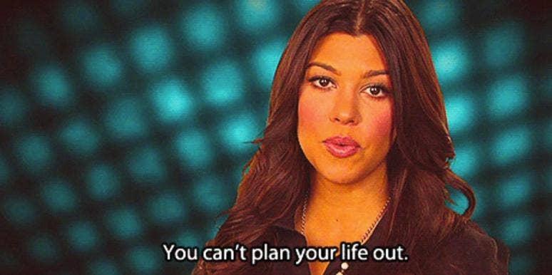 Kourtney Kardashian from Keeping Up With The Kardashians