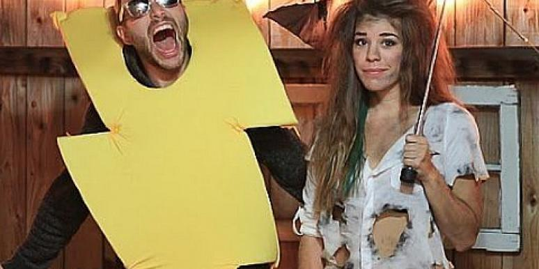 Last,Minute DIY Halloween Costumes For Couples