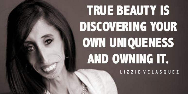 10 Inspirational Quotes From Lizzie Velasquez