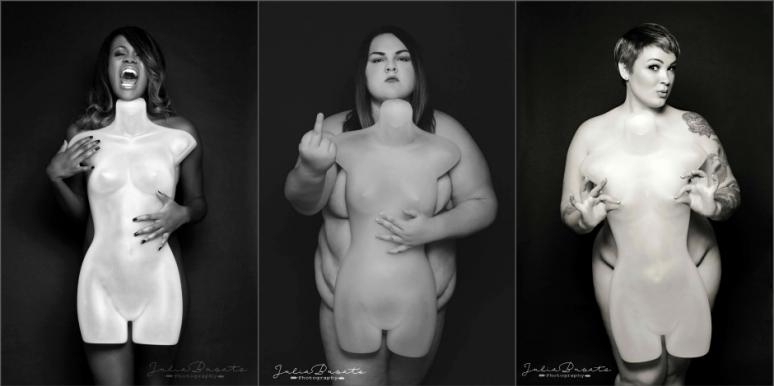 The 'Mannequin Series' By Julia Busato Photography Empowers Greater Body Image Acceptance For All