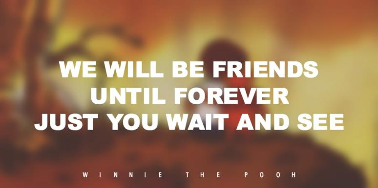60 Simple But Profound Winnie The Pooh Friendship Quotes YourTango Enchanting Quotes From Winnie The Pooh About Friendship