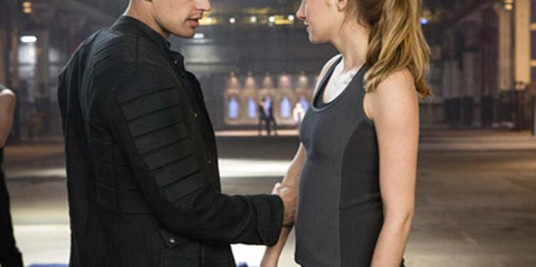 Divergent's Tris And Four (Theo James and Shailene Woodley)