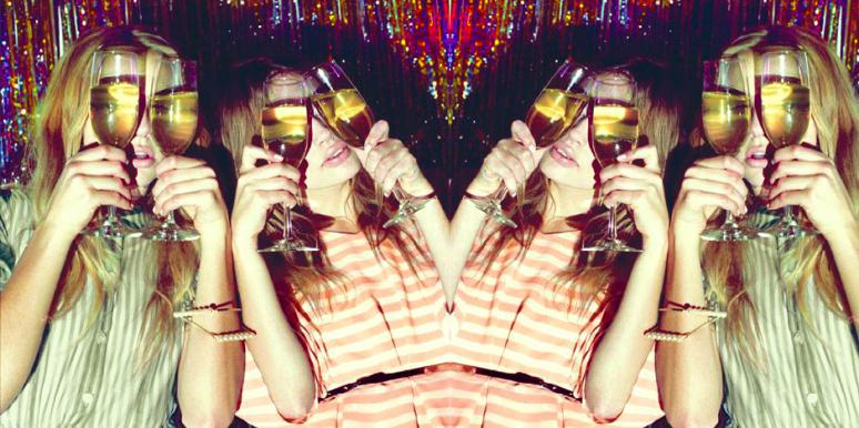 Stages of Getting Wedding-Drunk