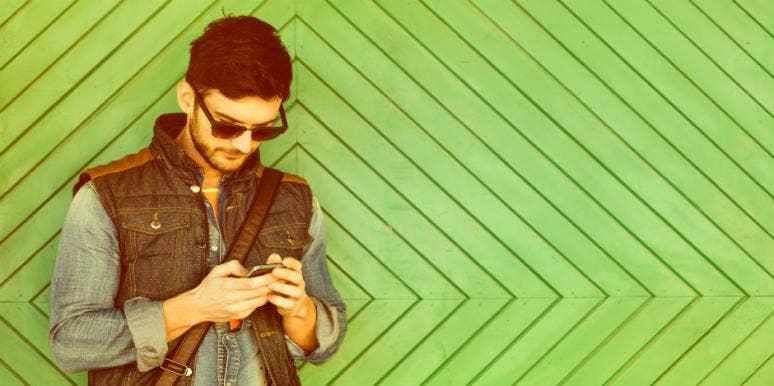 Dating apps bruker GPS