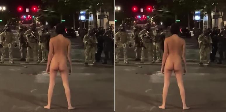 Who Is Naked Athena, The Protestor Who Stripped Down In Oregon?