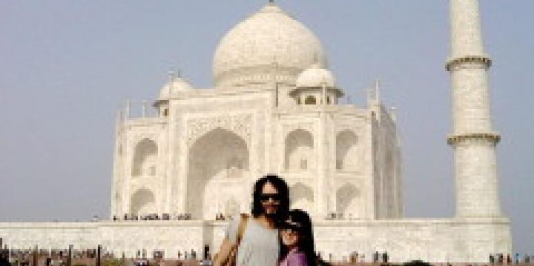 Russell Brand and Katy Perry in India