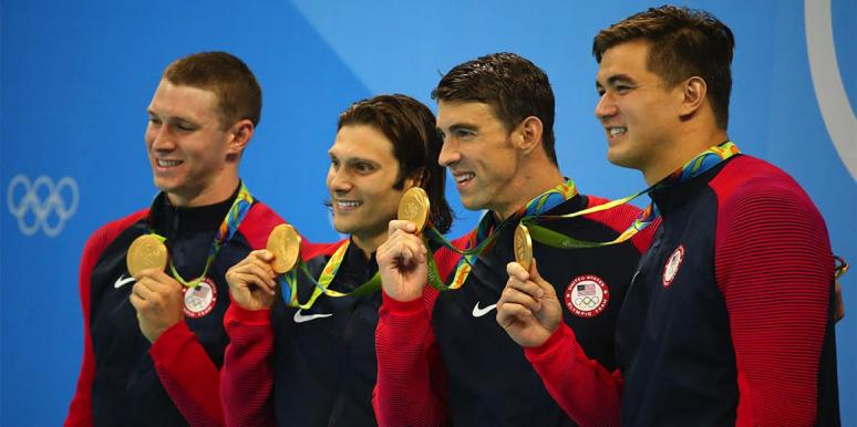 olympic gold medal swimmers
