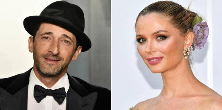 Is Georgina Chapman Dating Adrien Brody?