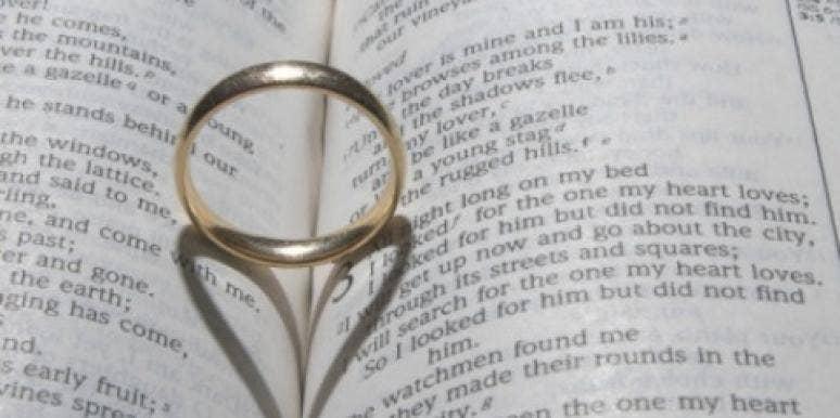 marriage wedding ring bible