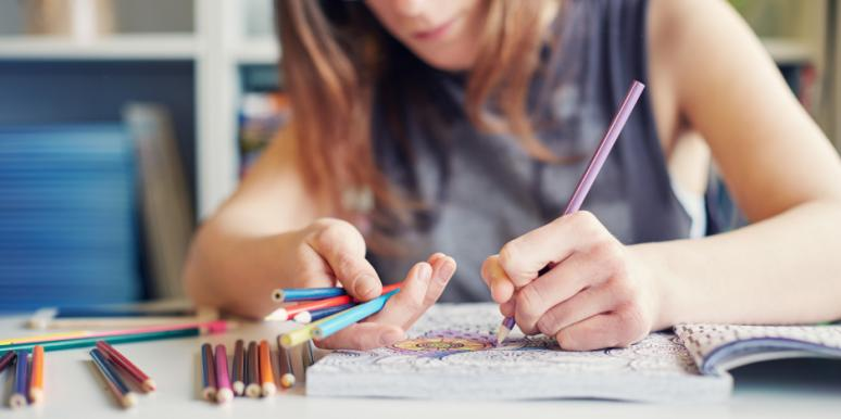 Adults Who Color Are WAY Less Stressed, According To Science