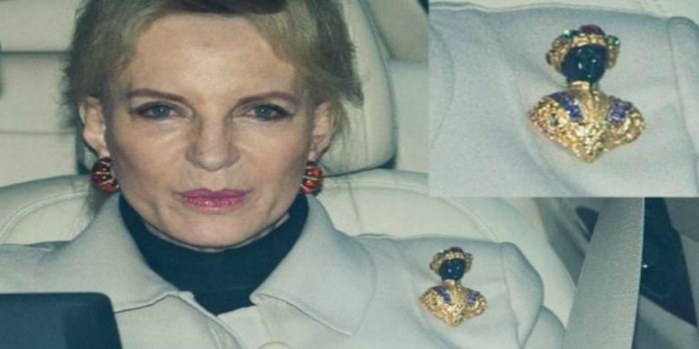 Princess Michael of Kent Wears Racist Brooch To Meet Meghan Markle