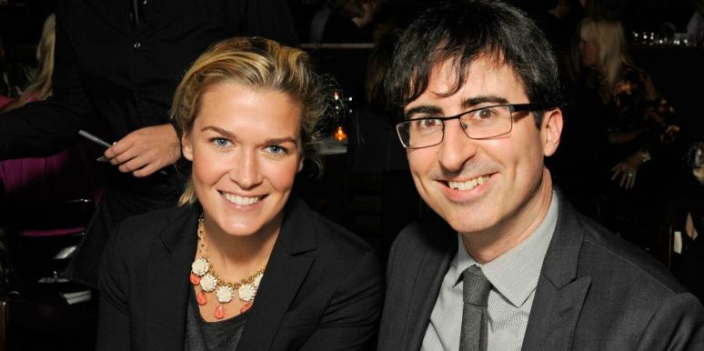 who is john oliver wife