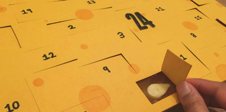 christmas gifts for cheese lovers cheese advent calendar