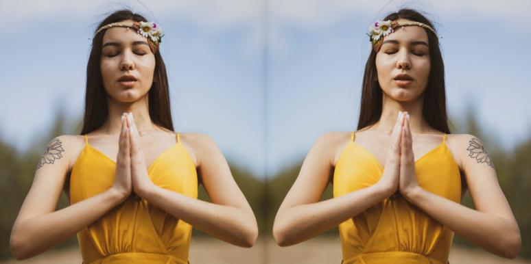 How To Join Marianne Williamson In A Global Prayer For 2 Minutes, Today, Sunday, March 22, 2020
