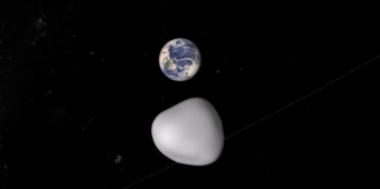 asteroid 2012 tc4, planet earth