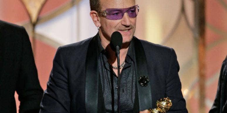 Bono Golden Globes 2014