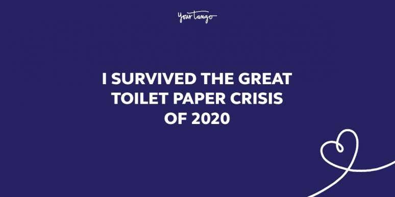 2020 quotes toilet paper crisis