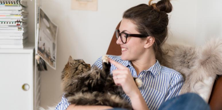4 Ways Owning A Kitty Makes You Happier (Says Research)