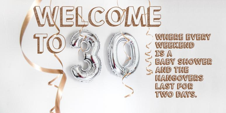 Female Humour 30? Never?!!.. - NEW 30th Birthday Card