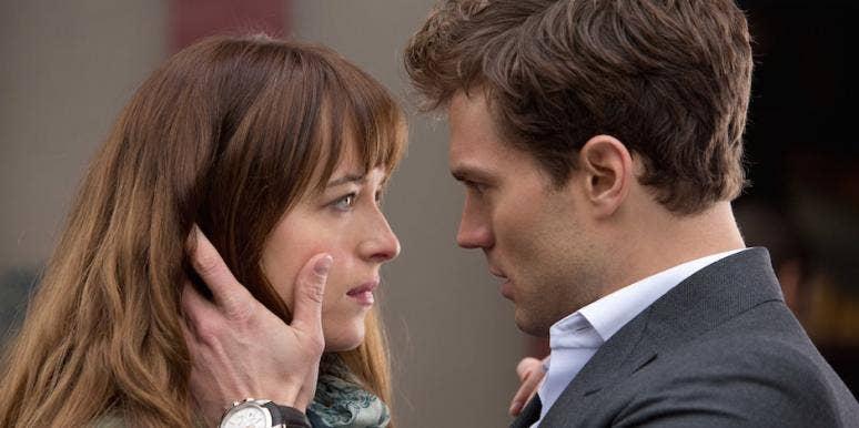 Dakota Johnson and Jamie Dornan from Fifty Shades of Grey