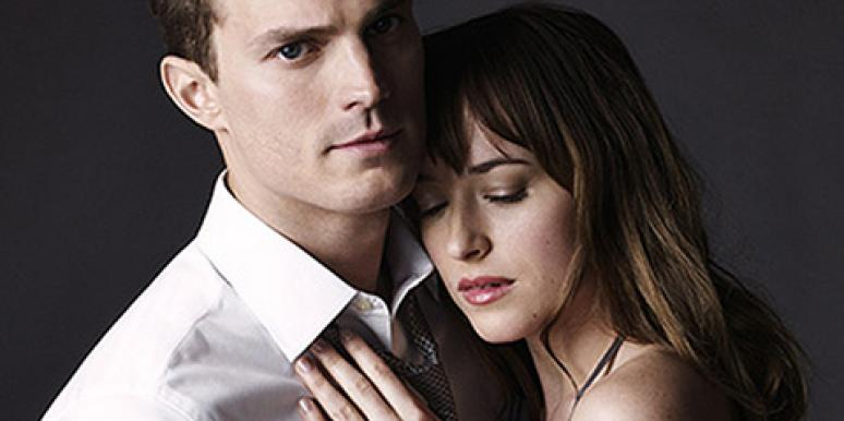 '50 Shades Of Grey' ('Fifty Shades Of Grey') stars Jamie Dornan and Dakota Johnson as Christian Grey and Ana Steele in Entertainment Weekly