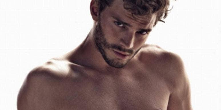 Jamie Dornan, who stars as Christian Grey in '50 Shades Of Grey,' posing shirtless in an underwear ad
