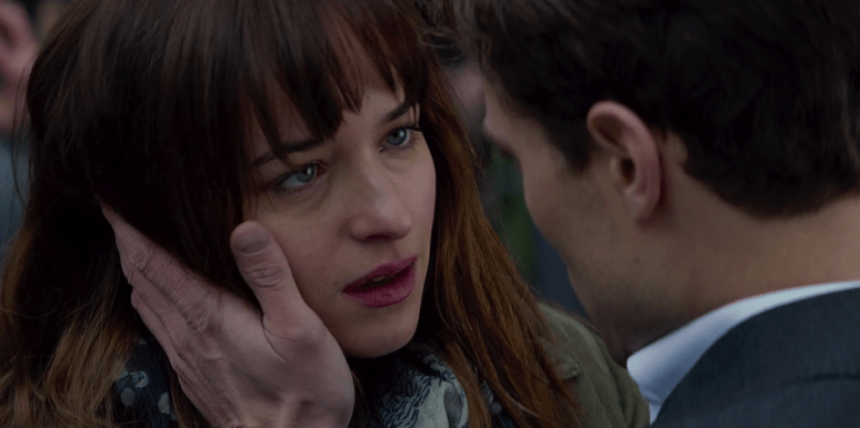 The 50 Shades of Grey Trailer Ana Steele Dakota Johnson