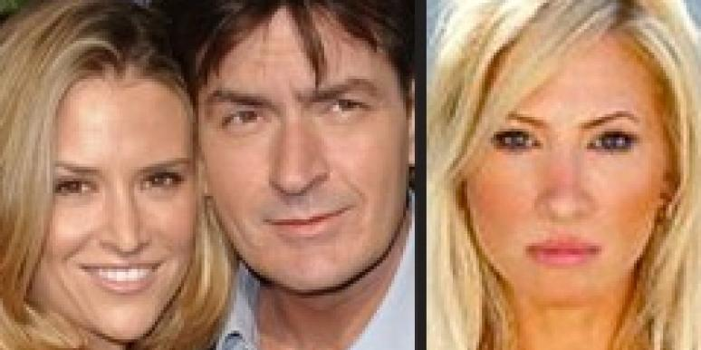 Brooke Mueller and Charlie Sheen, Angelina Tracy