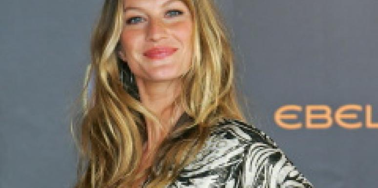 Gisele Bundchen celebrity pregnancies