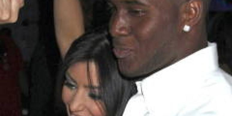 REggie Bush Kim Kardashian wedding