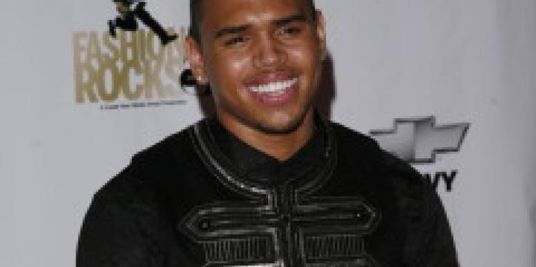 Chris Brown Makes Out With Kanye's Ex
