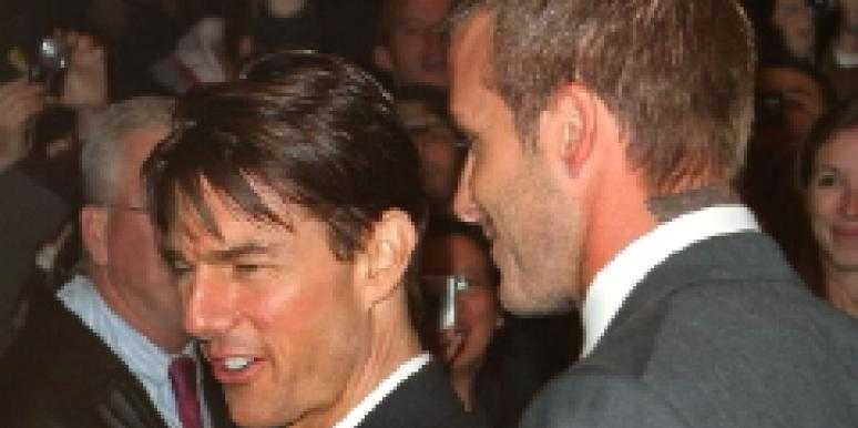 tom cruise and david beckham