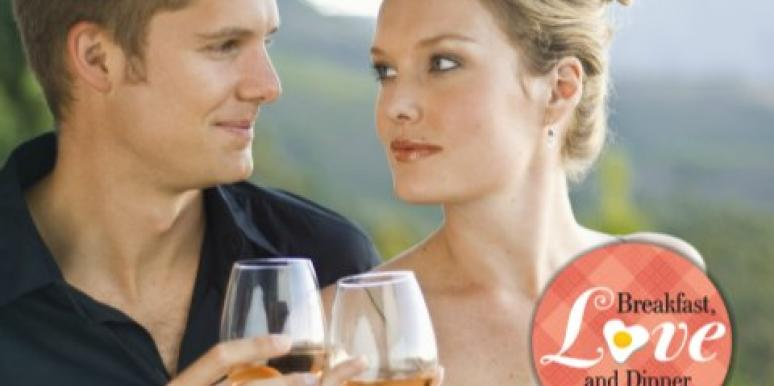 drinking wine couple