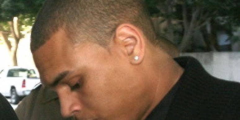 Chris Brown Larry King Rihanna domestic abuse