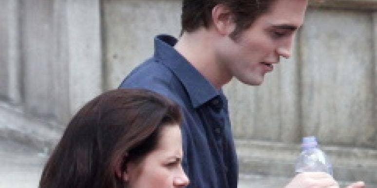 Robert Pattinson Kristen Stewart shopping Retro Rock Vintage