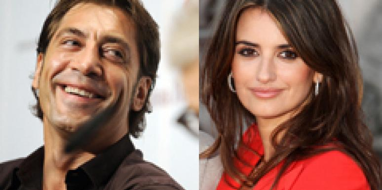 Penelope Cruz & Javier Bardem Are Engaged, But Not Pregnant