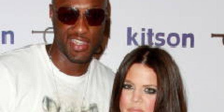 Khloe Kardashian Lamar Odom fake marriage