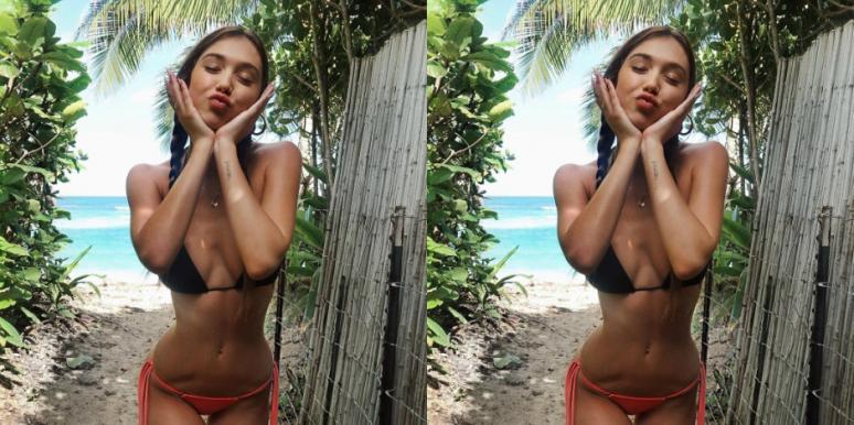 f107944156b9e Alexis Ren Plastic Surgery Rumors And Details About Sports ...