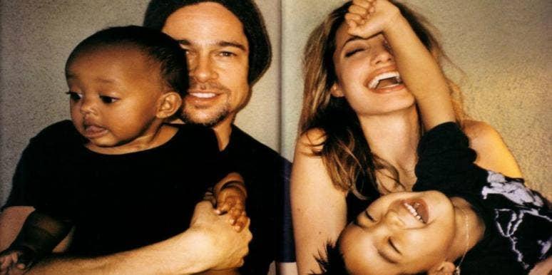 angelina jolie brad pitt family divorce parenting