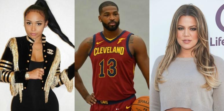 Tristan Thompson's ex-girlfriend and baby mama not happy with his relationship with Khloe Kardashian